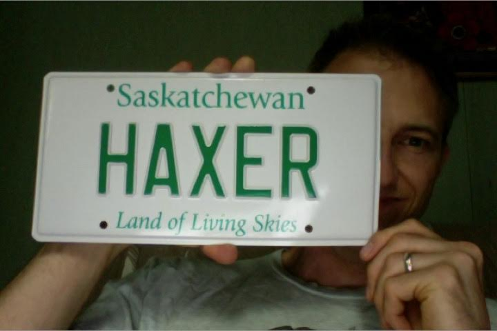 The license plate everyone wants!